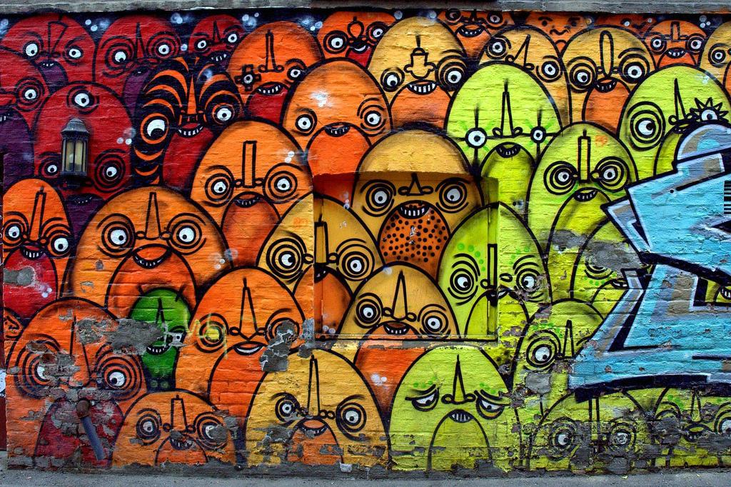Incredibly Creative Graffiti Art Designs For Inspiration - 21 amazing examples of graffiti