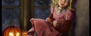 Halloween Children Illustration