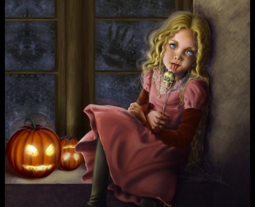 Halloween Children Illustration