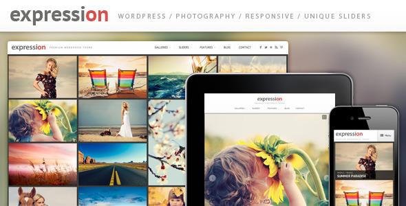Expression Photography Portfolio Theme