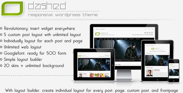 Odashed Multipurpose WP theme