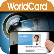 WorldCard iphone app