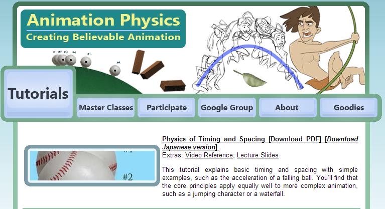 animation physics