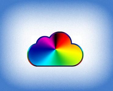 iCloud Free Icon PSD