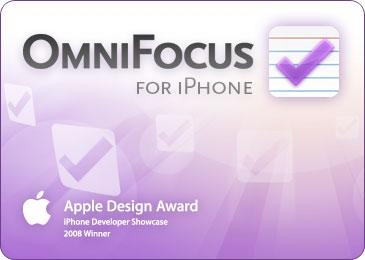 omnifocus iphone app