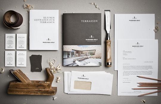 Mareiner Holz Brochure Design