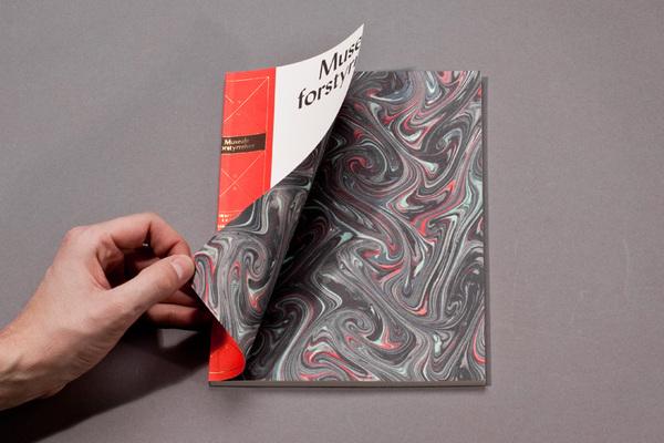 Museale Forstyrrelser Brochure Design