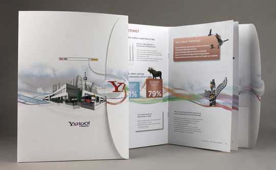 Extremely Creative And Beautiful Brochure Designs For