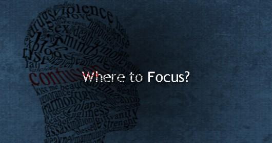 blogging and focusing