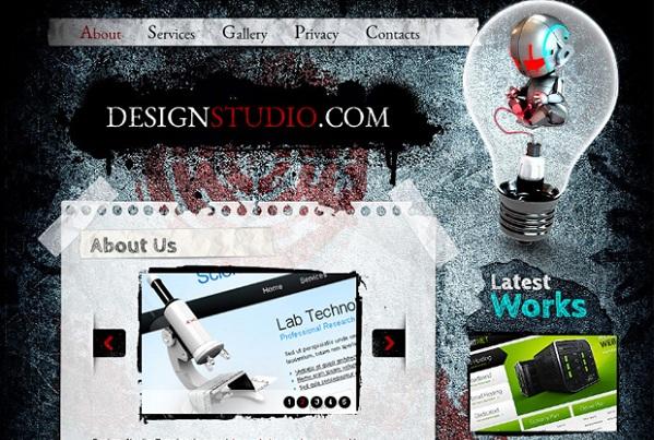 Free Design Studio Website CSS Template