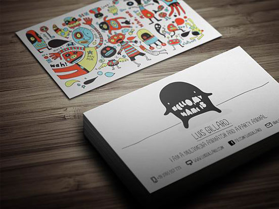 40 Neatly Designed Presentable and Creative Business Card