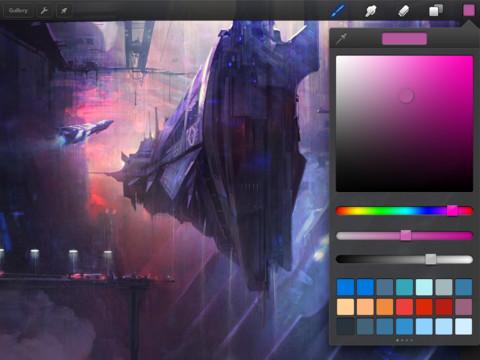 Procreate drawing app