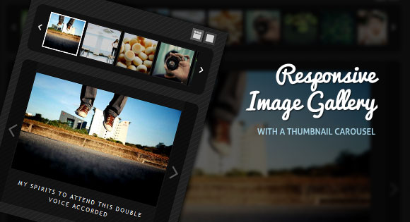 Responsive Image Gallery jQuery plugin