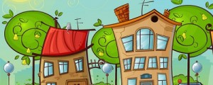 Vector House Illustrator tutorial