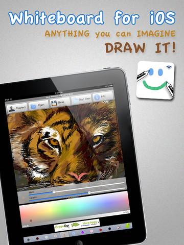 WhiteBoard Drawing app