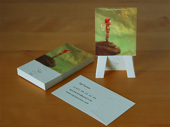 egil-paulsen business card design