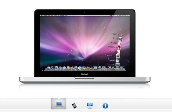 jQuery free apple gallery plugin