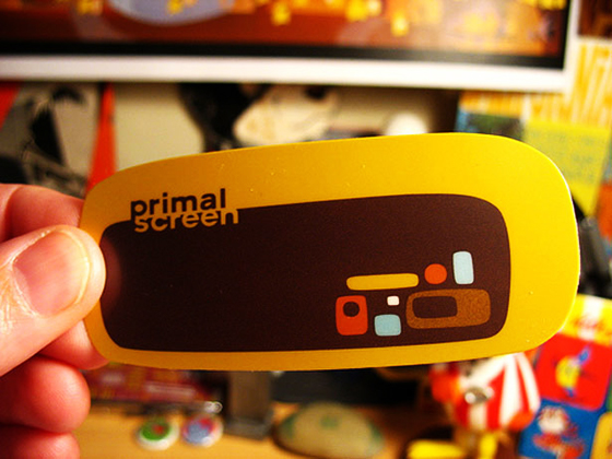 primal screen business card design 32