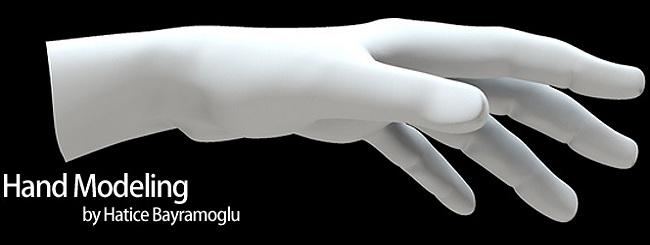 hand modeling in 3D