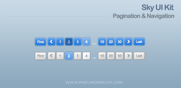 13 Pagination-sky-ui-kit