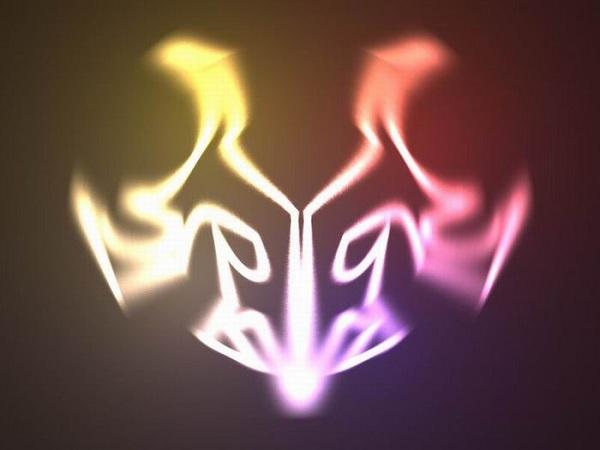 tribal_logo in 3d tutorial