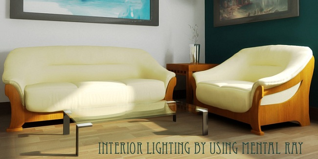intertior lighting 3d tutorial
