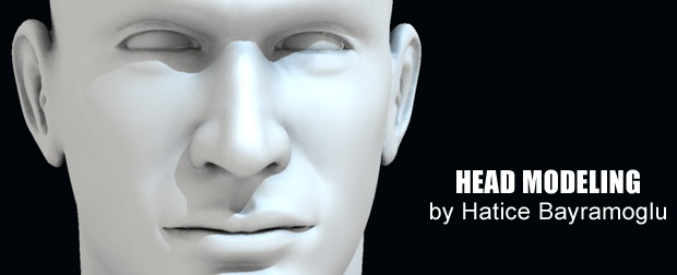 creating head model in 3D