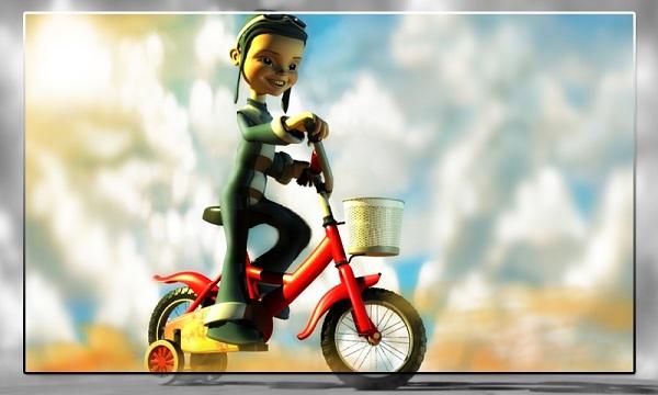 bicycle model in 3d tutorial