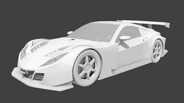 Creating  car in 3d tutorial