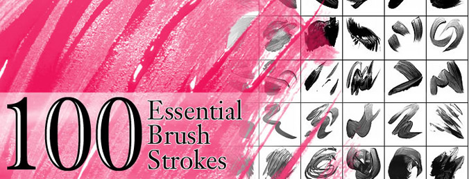 paint strokes brushes photoshop