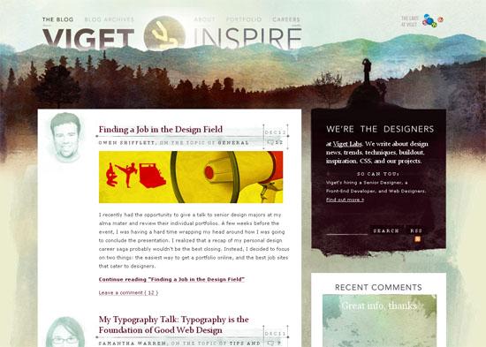 blog in website