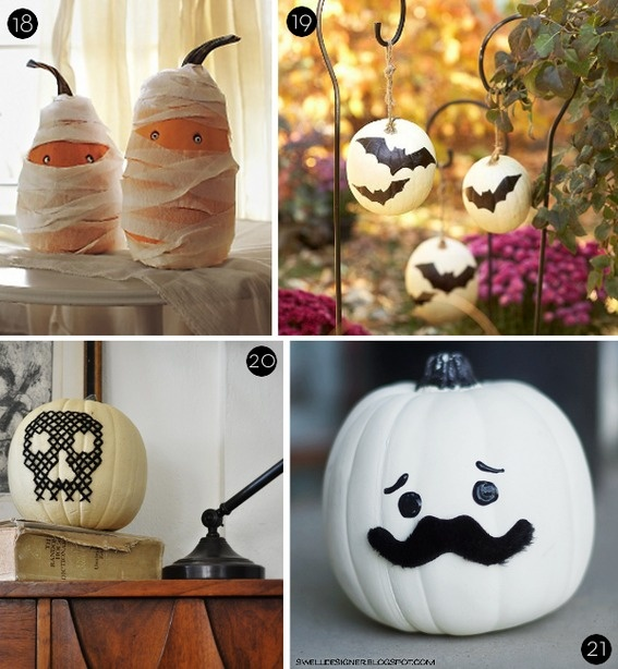 25 DIY NO Carve Pumpkin Project