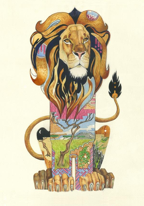 25 Must See Stunning Animal Art And Illustration
