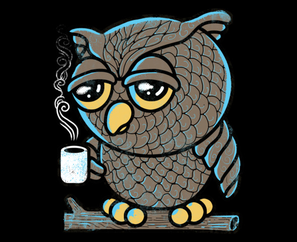 25 Awesome And Eye Catching T Shirt Designs For Your: t shirt with owl design