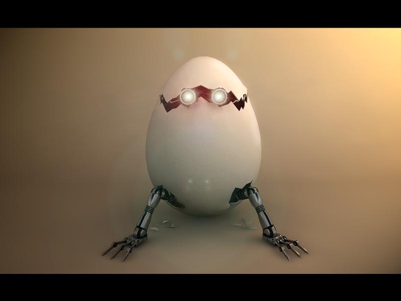 Eggbot_by_3D Illustration