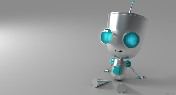 Gir_by_thekeyofE 3d illustration
