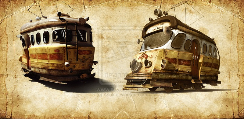 city_tram 3D Illustration _by_anuk-d1blghb