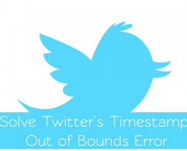 Timestamp out of bounds