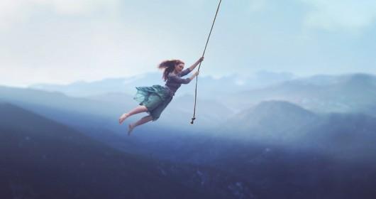 On a String beautiful photo manipulation