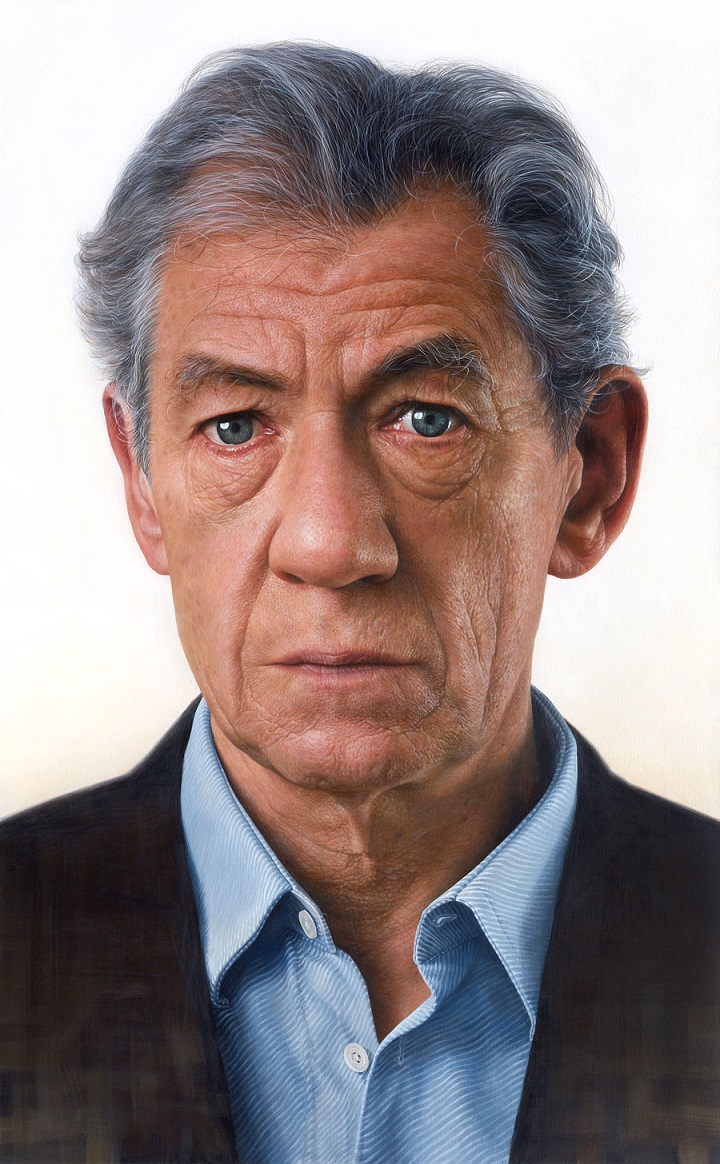 Persona (Face of Sir Ian McKellen)