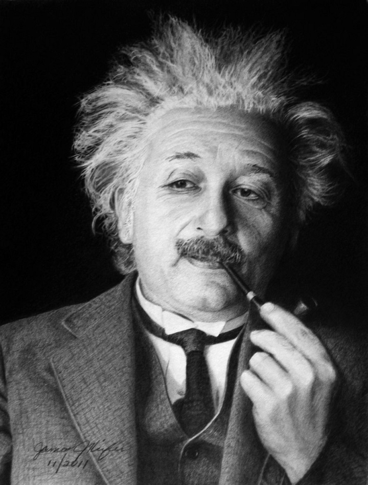albert_einstein_Hyperrealistic