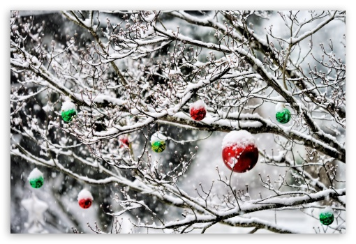 christmas_ornaments_in_the_snow