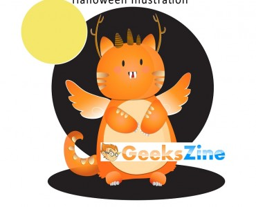monster - geekszine - freebie - halloween illustration