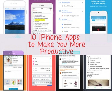 iphone apps to make you more productive