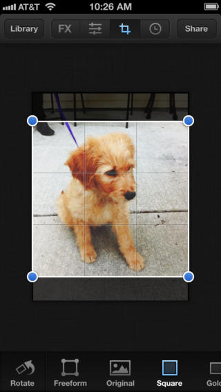 Photo editor luminance