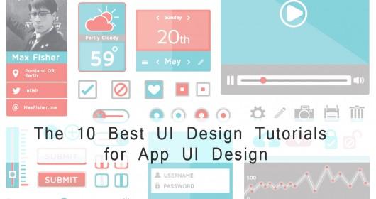 The 10 Best UI Design Tutorials for App UI Design