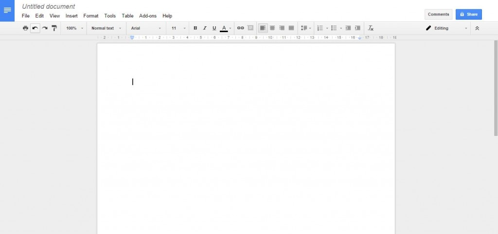 Word alternatives Google docs