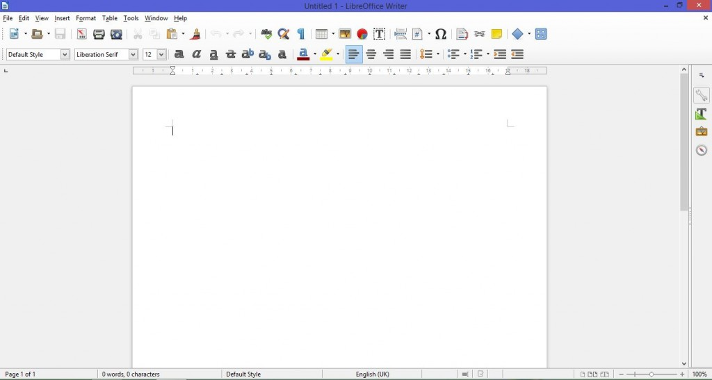 Word alternatives Libreoffice