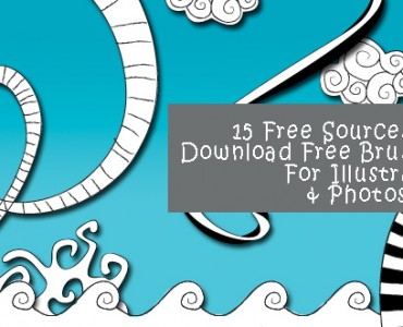 15 Free Sources To Download Free Brushes For Illustrator & Photoshop