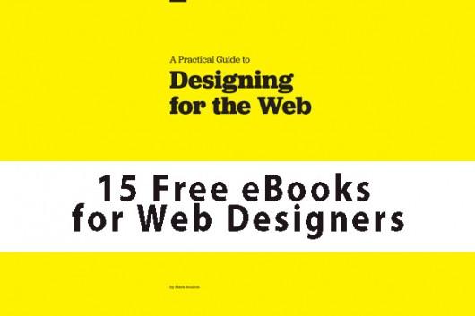 15 Free eBooks for Web Designers
